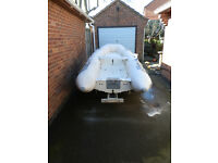 Inflatable Rib Avon Rover 310 with Trailer