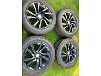"""20"""" Range Rover Sport Vogue Discovery Alloy Wheels Tyres"""
