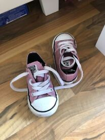 Girls sparkly converse