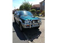 SWAP SWAP Mitsubishi L200 truck with great Reg Number L200 RSL