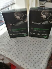 2 boxes of 2 Diamondbrite DB32 after care car kit