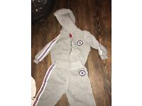 6-9 converse tracksuit used but good condition