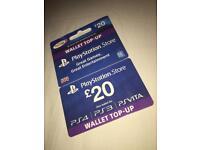PlayStation PSN Card 20 GBP Wallet Top Up   PSN Download Code - UK account