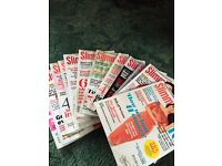 Huge bundle of slimming world magazines