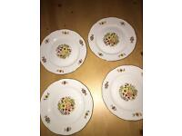 Vintage antique Tea Set Cake Side Plates
