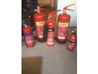 Fire Extinguishers selection