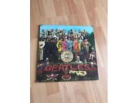 OLD Sargent Pepper Beatles Vinyl *Original case and Vinyl