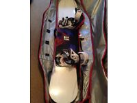 Burton Ripcord Snowboard 158W with Drake King Bindings