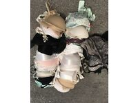 BARGAIN! A bundle of size 32a bras.
