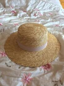 ASOS Womens Wide Brim Straw Hat