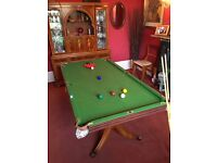 Snooker / Pool Table (Not full size)