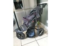 Out n About Nipper 360 V4 (Raven Black) All Terrain Single Pushchair