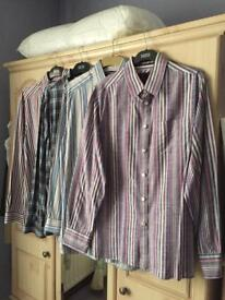 Mens Casual Shirts (x 4) - M&S - Can Be Bought Separately