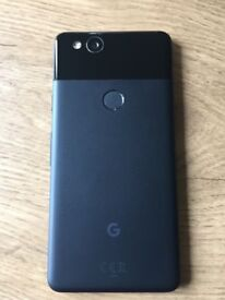 Google Pixel 2, 128GB. 4 months old, unlocked, immaculate condition. FREE Google case worth £35