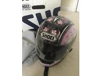 Shoei Ladies motorcycle helmet