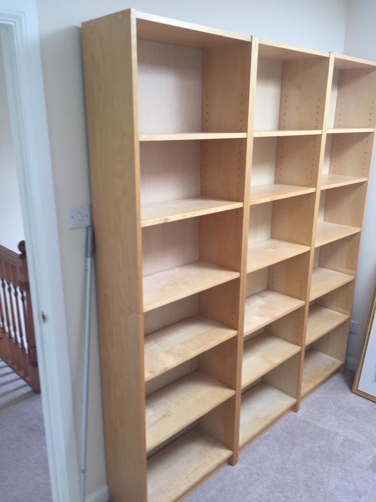 Ikea Billy Bookcases 3 + 1 with cd storage   in Angus ...