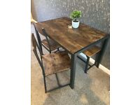 4 Person Dining Table 2x Chair 1 Bench