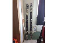 K2 twin tip ski's 160cm