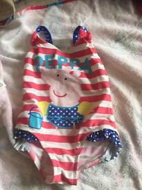 Peppa pig swim suit