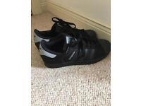 Adidas superstar Black/grey size 7