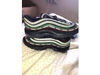 Air max 97's undefeated