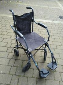 Drive Travelite wheelchair in a bag (£120 new) excellent central London bargain