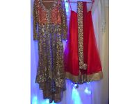 Coral & Gold Lengha
