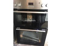 Logik Intergrated Double Electric Oven New and Unused