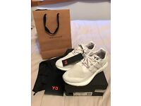 Adidas Y-3 Pure Boost Triple White UK 8/U.S. 8.5 (BY8955)