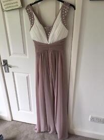 Size 8 floor length quiz dress