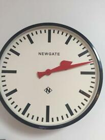 Large Newgate wall clock
