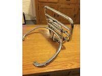 Vespa gts sprung rear rack genuine Vespa Excellent condition