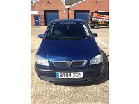 Bargain Vauxhall Zafira 2004 7 Seater Car For Sale