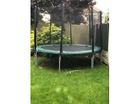 10ft plum trampoline