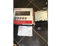 Pioneer Car Stereo with removable cover