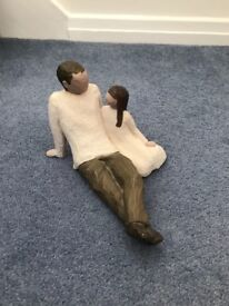 Father and Daughter Willow Tree Figurine