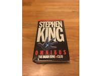 Stephen King Omnibus Book - The Deadzone and Cujo - £3