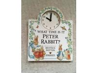 Peter Rabbit Tell the time book