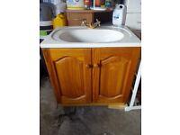 Vanity unit, Cloakroom unit, Sink, Basin, Cupboard