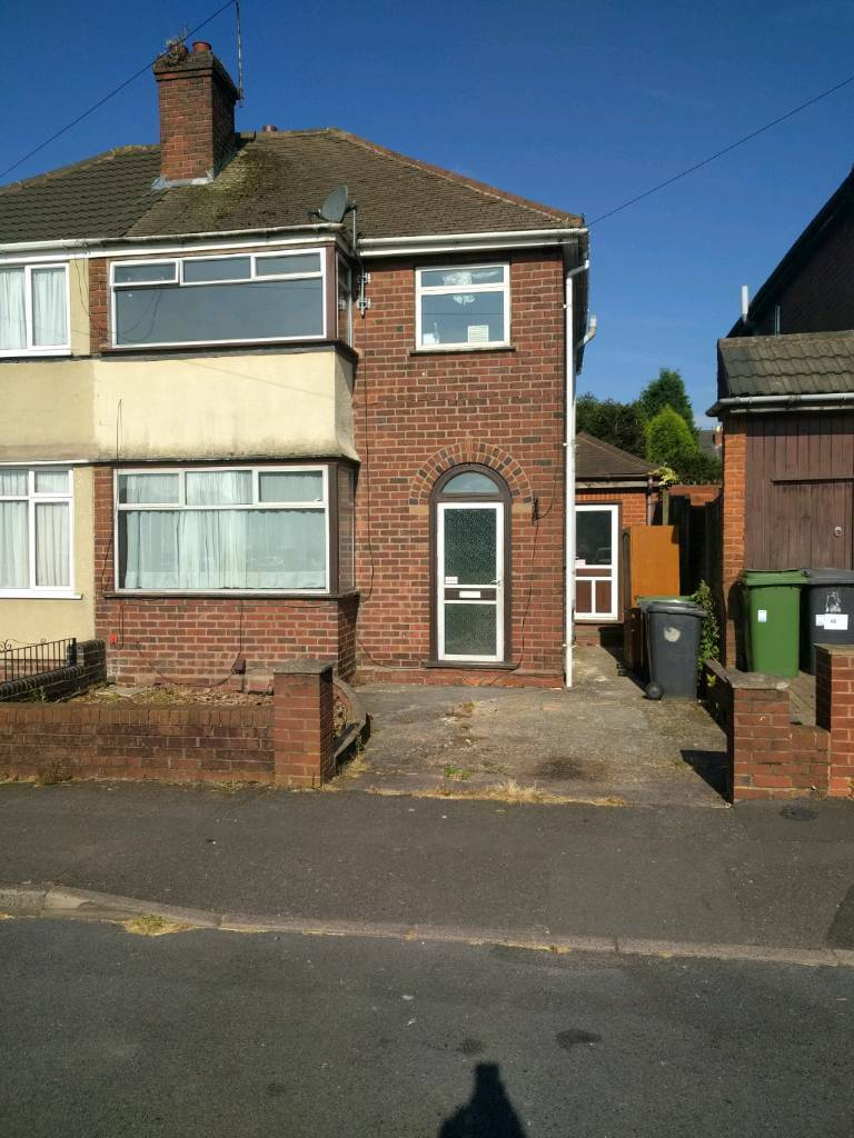 3 Bedroom House For Rent Wednesfield Wolverhampton