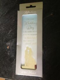 Brand new still in box ideal wedding gift wall decoration