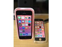 iPhone 5C Unlocked Pink Very Good Condition