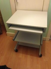 Lovely grey computer table great condition
