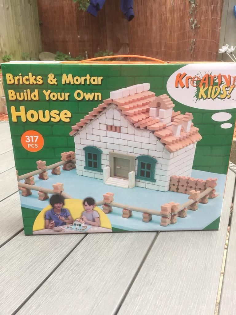 Bricks and Mortor Build Your Own House