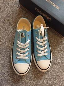 Women's blue size 6 converse