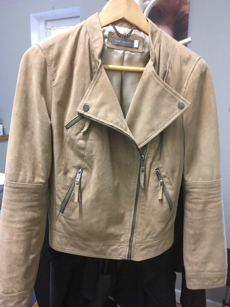 04af9f7d0d421 Mint Velvet Suede leather Jacket | in Lincoln, Lincolnshire | Gumtree