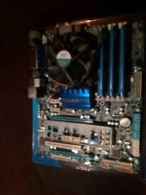 Gigabyte UD3 board, i7 940, 6 GB Ram