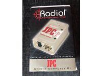 Radial JPC Computer Laptop PC DI Direct Box