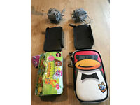 Nintendo 3DS x 2, Complete with 2 games, cases, charger units, charger, user guide, good condition