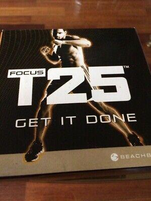 Fitness DVD on USB HIIT 90 Day Program 25 Min Workouts Videos T T25 Insane